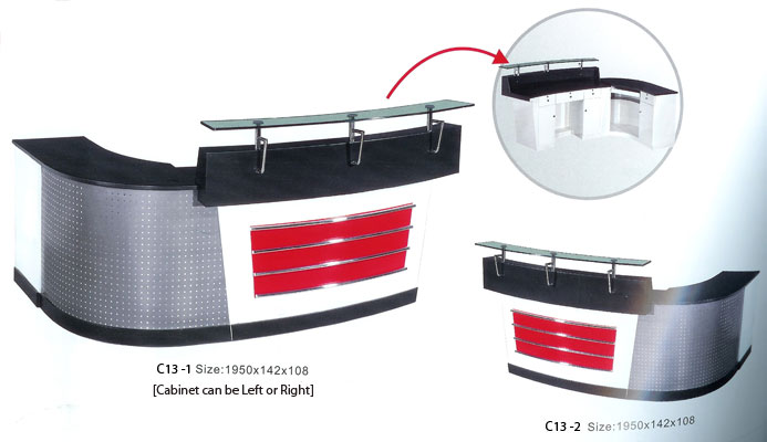 C13-1 and C13-2 - Reception Desk