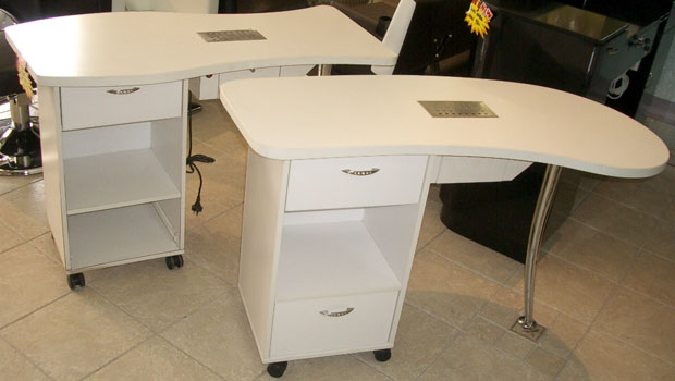 Manicure Table MD1 - Fish or Kidney Shape