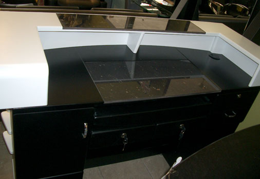 R9 - Reception Desk Back